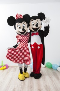 Mascotele de la disney Mickey si Minnie Mouse Iasi